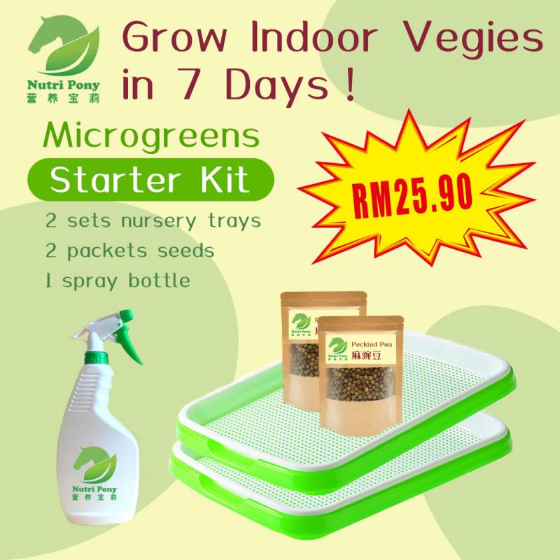 Microgreens Growing Starter Kit
