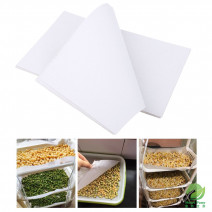 Soilless Nursery Paper for Hydroponics Seedling Planting Tray Germination Growing Microgreens Cultivation